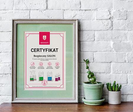 Certyfikat Medisept